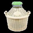 Стеклянные емкости - Банки в пластиковых корзинах