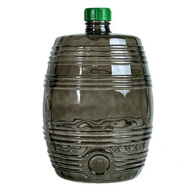 Бутыль Бариле, дымчатая, 10 л